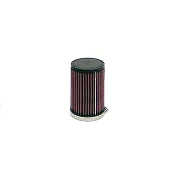 K&N RD-6010 Universal Clamp-On Air Filter: Round Tapered; 3.625 in (92 mm) Flange ID; 6 in (152 mm) Height; 4 in (102 mm