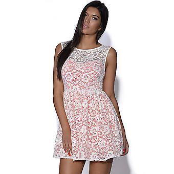 TFNC Lace Overlay Dress