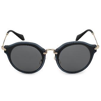Miu Miu Runde Sonnenbrille SMU51SS 1AB9K1 49