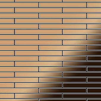 Kovová mozaika titanové slitiny DeeDee-ti-AM