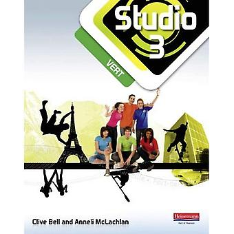 Studio 3 Vert elev bok (11-14 franska) (Studio 11-14 franska)
