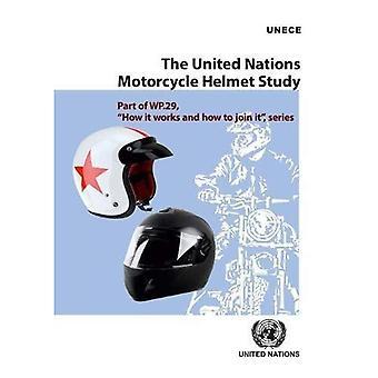 L'étude des Nations Unies de casque moto