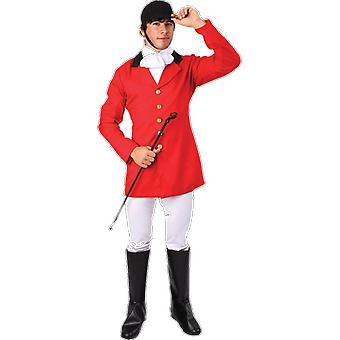 Orion kostuums mens Fox Hunter rode pak uniform fancy dress kostuum