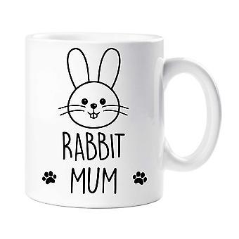 Rabbit Mum Mug