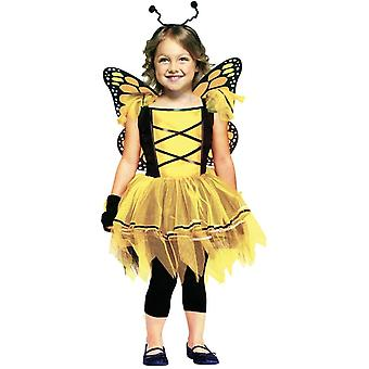 Yellow Butterfly Toddler Costume