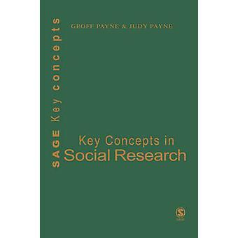 Viktiga begrepp i Social forskning av Payne & Geoff