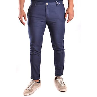 At.p.co Ezbc043006 Men's Blue Cotton Pants