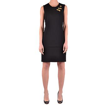 Love Moschino Ezbc061017 Women's Black Viscose Dress