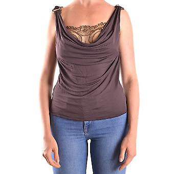 John Richmond Ezbc082099 Women's Brown Polyester Top