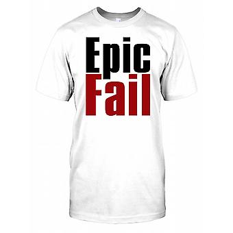Epic Fail - Mens-T-Shirt engraçado