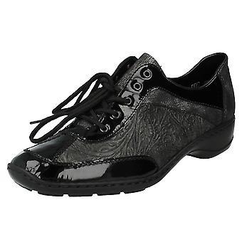 Las señoras encaje Rieker zapatos 58312