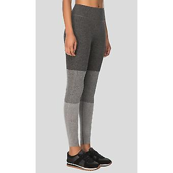 Guillaume-womens - lima - Grey Melange - sans soudure-Active Leggings
