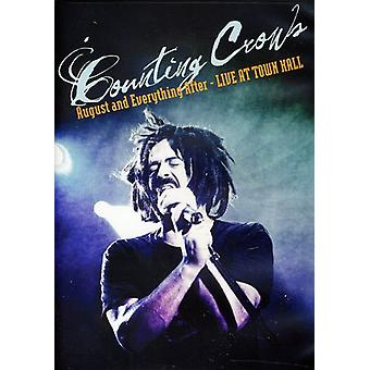 Counting Crows - August & Everything After: Live From Town Hall [DVD] USA import