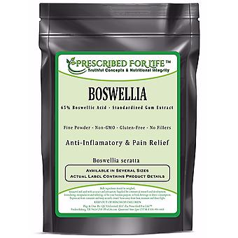 Boswellia - 65% Boswellic Acid Natural Gum Extract Powder (Boswellia seratta)