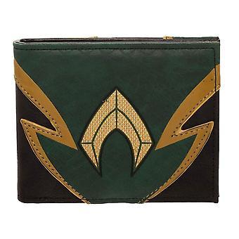Aquaman Chrome Weld Patch Bi-fold Wallet