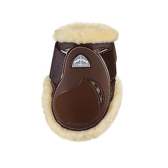 Veredus Young Jump Vento Save The Sheep Rear Fetlock Boots - Brown