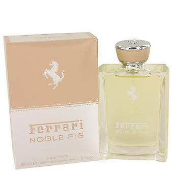 Ferrari Noble Fig Eau De Toilette Spray (Unisex) By Ferrari   535946 100 ml