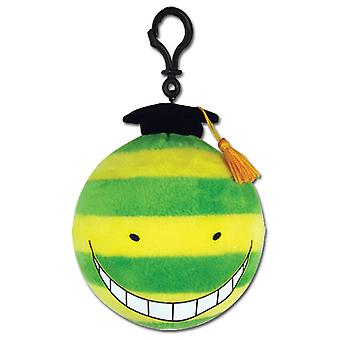 Key Chain - Assassination Classroom - Koro Sensei Mockery (Nameteru) Plush ge52915