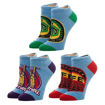 Ankle Socks - Ready Player One - 3 Pack Set New Licensed xs6dhurpo