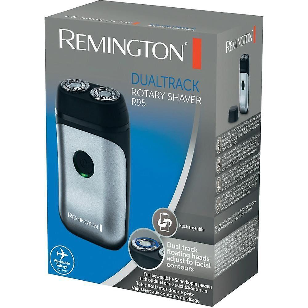 Remington R95 Rechargeable Lithium Lightweight Mens Rotary Travel Shaver