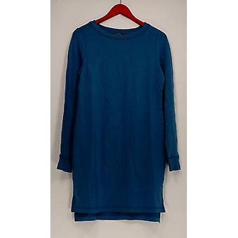 Anybody Dress Loungewear Cozy Knit French Terry Long Sleeve Blue A293068