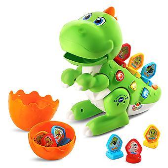 VTech 518703 Aprenda & brinquedo interativo do bebê da dança Dino