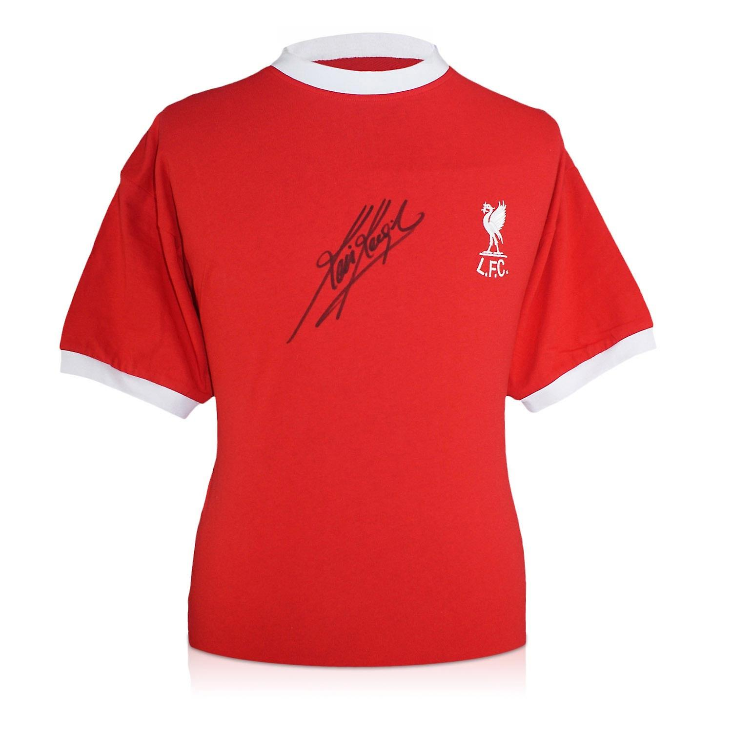 Kevin Keegan Signed Liverpool 1973 Shirt In Gift Box