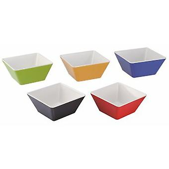 Pujadas Deep Square Bowl Light And Rigid Melamine Little Heat Conductor