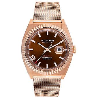 Jason hyde i have a date watch for Women Analog Quartz with JH30005 Stainless Steel Bracelet