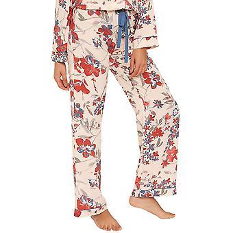 Lingadore 4431-225 vrouwen ' s flowerpower veelkleurig Floral pyjama broek