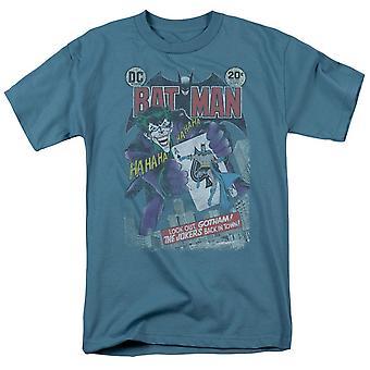 Batman Comics Cover #251 Distressed Men's T-Shirt