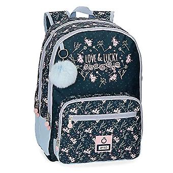 Enso Love & Lucky Backpack - 40 cm Double Compartment Adaptable To Trolley