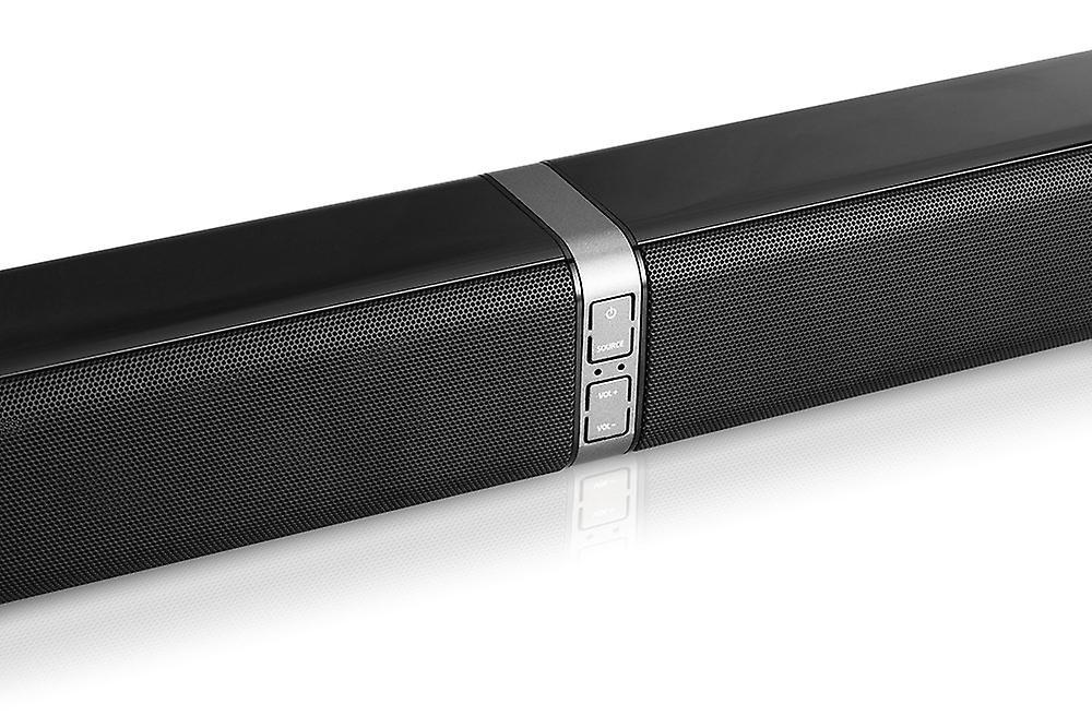 DUTCH ORIGINALS 50 W Bluetooth 4.2 soundbar, tower speaker for TV, home theater, PC with remote control, HDMI, AUX, optical, 32 inches, black