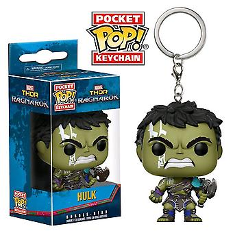 Thor 3 Ragnarok Hulk Pocket Pop! Avaimenperä