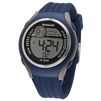 SINAR mládež hodinky náramkové hodinky digitálny Quartz Unisex silikónový popruh XF-66-2