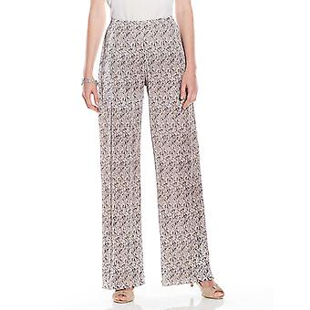 Amber Ladies Plisse Trouser Floral