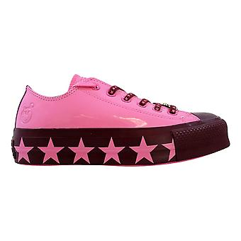 Converse Chuck Taylor All Star Lift Ox Pink/Dark Burgundy Miley Cyrus 563718C Femmes(s)s
