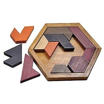 Geometrical Puzzle of wood
