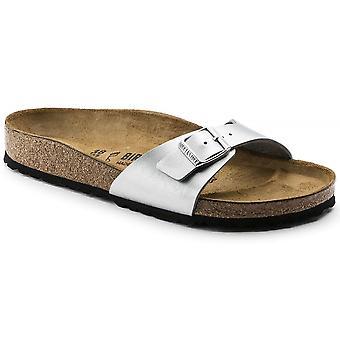 Birkenstock Madrid BF Sandal 40413 sølv smal