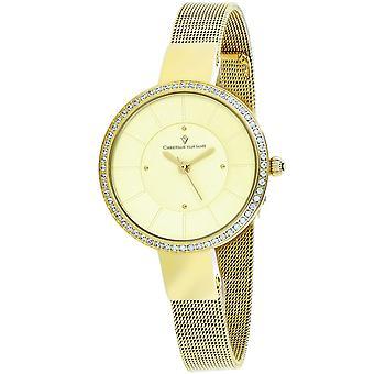Christian Van Sant Women's Reign Gold tone Dial Watch - CV0224