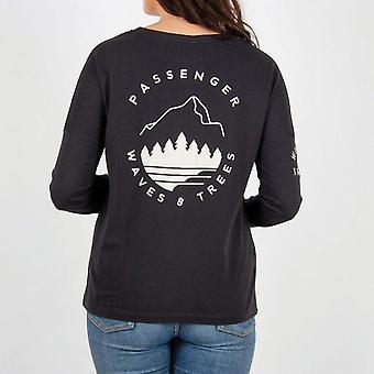 Passenger big leaf long sleeve t-shirt