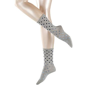 Esprit multi dot sokker-lys grå