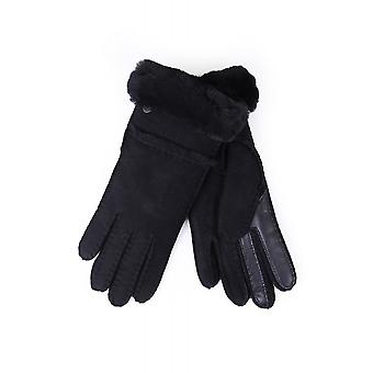 UGG Womens Sheepskin Seamed Tech Gloves