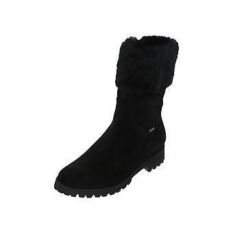 Högl 4-112812 Women's Boots Black Lace-Up Boots Winter