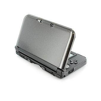 Zedlabz polycarbonate crystal hard case cover shell for nintendo 3ds xl (old 2012 model) protective armour - black glitter armor