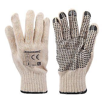 Enkelzijdige dot handschoenen-L10