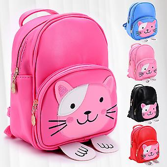 Children preschool Backpack little girl Bag satchel Cat Fashion