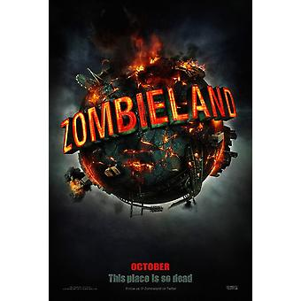 Zombieland Original Movie Poster - Double Sided Advance Uv Coated