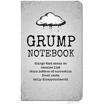 Archie mcphee - big grump notebook