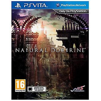 Natural Doctrine PS Vita Game